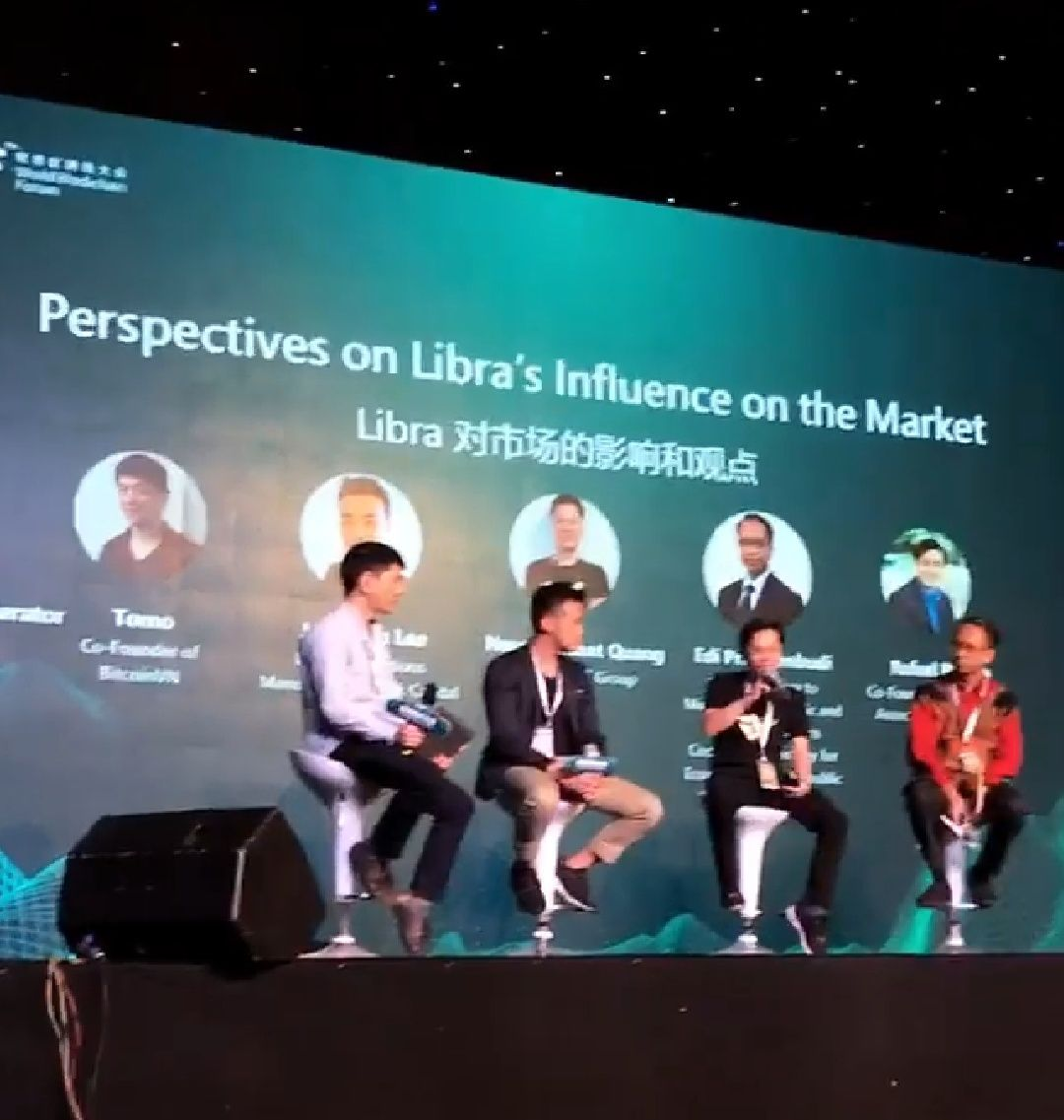 Libra discussion at WBF