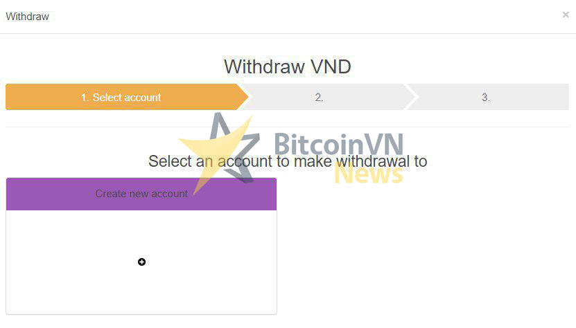 Withdraw VND