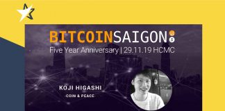 5 Years Bitcoin Saigon - Interview with Koji Higashi of Coin & Peace