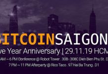 5 Years Bitcoin Saigon