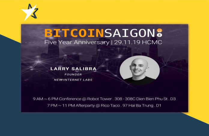 5 Years Bitcoin Saigon - Interview with Larry Salibra