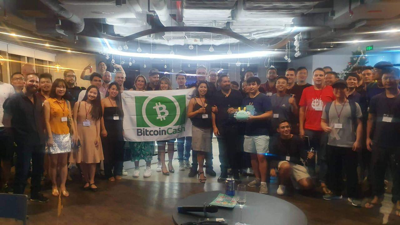 The audience at the first Bitcoin Cash Saigon meetup in December 2019