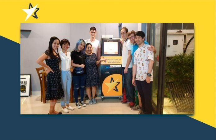 First Bitcoin ATM in Thao Dien (Saigon) placed
