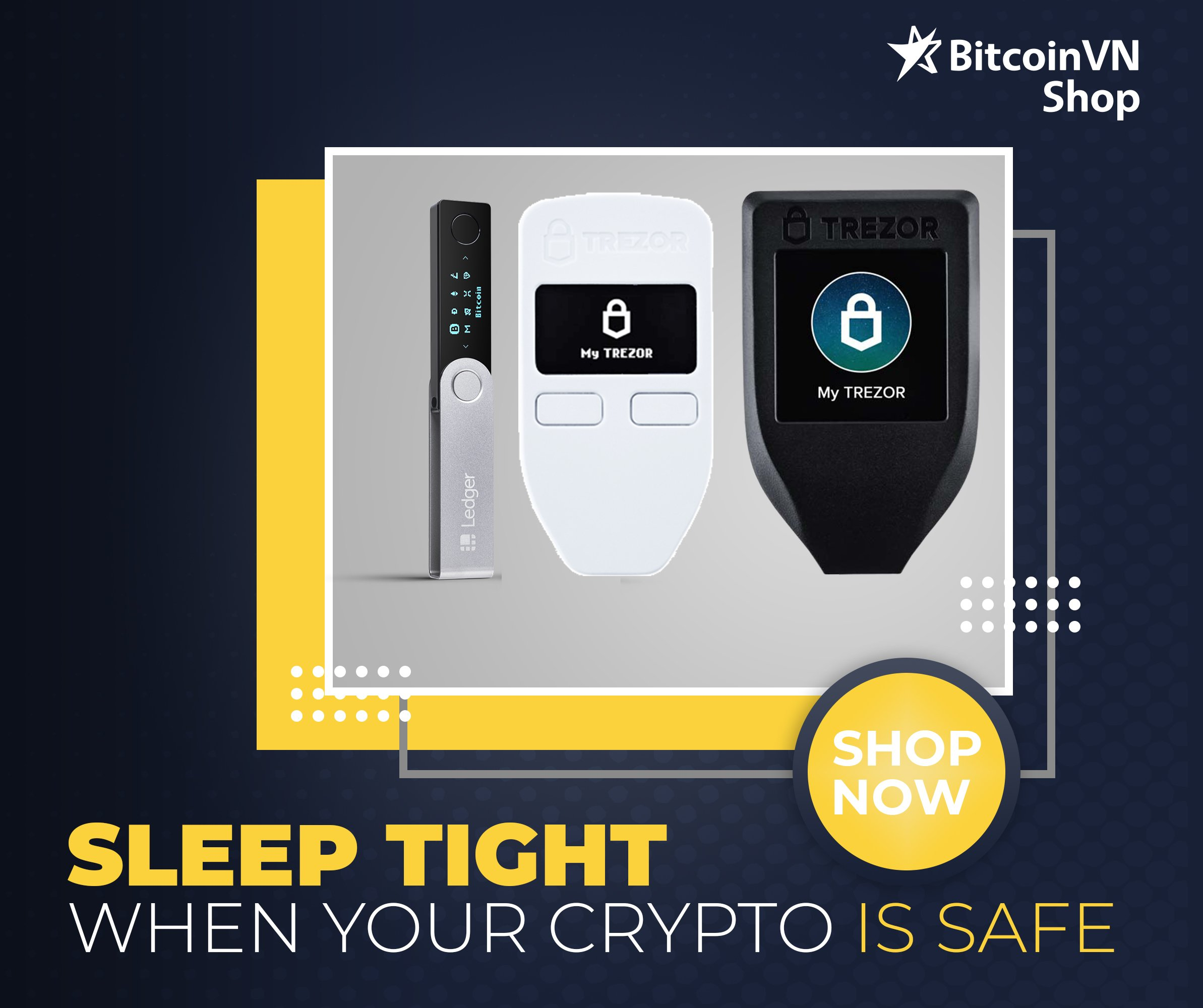 Sleep tight with hard wallets from BVShop!