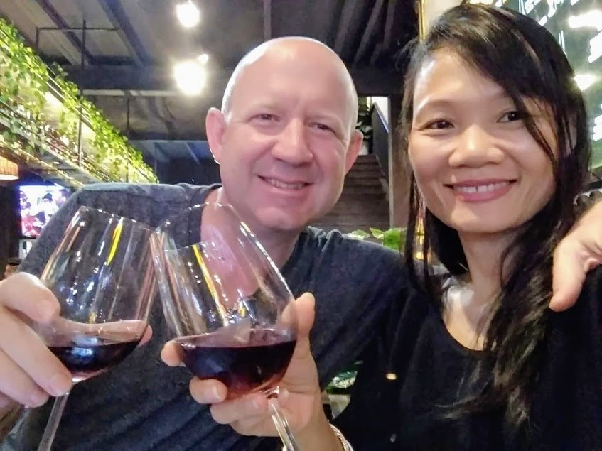 Rob & Lien - building their F&B empire in the burgeoning Vietnam