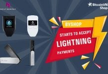 BitcoinVN Shop starts to accept Lightning Payments