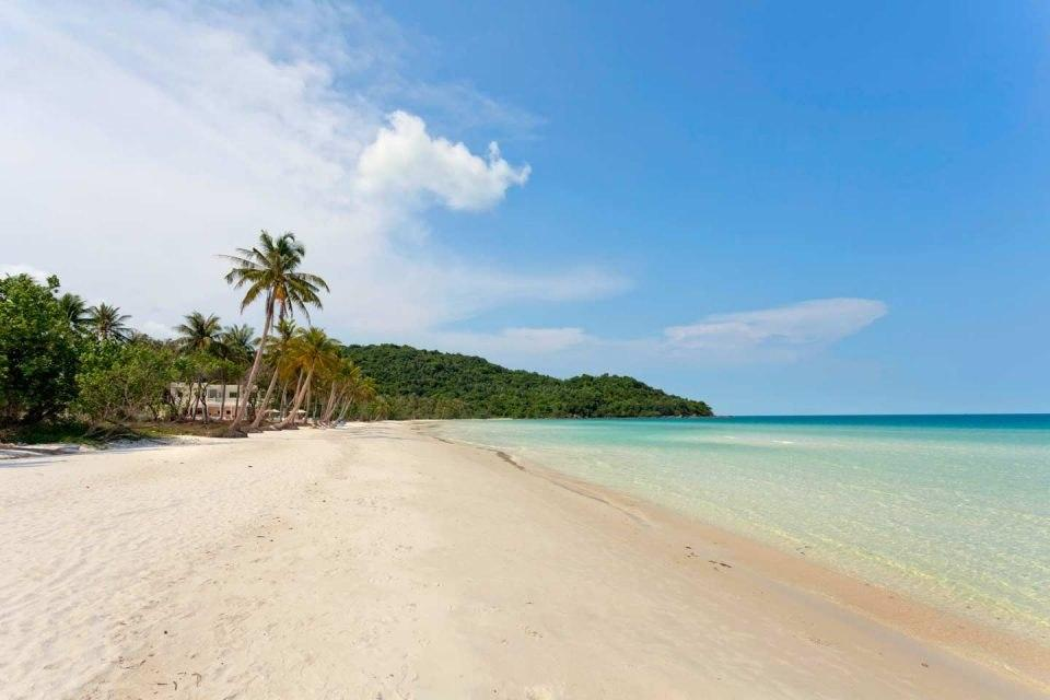 The beautiful beaches of Vietnam are quiet empty in these times - ideal for a relaxing get-a-away if you find your to Vietnam!