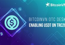 BitcoinVN OTC Desk enabling USDT on TRC20