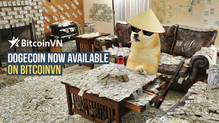 Have fun staying poor? Dogecoin now available on BitcoinVN