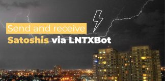 How to send and receive Satoshis via LNTXBot