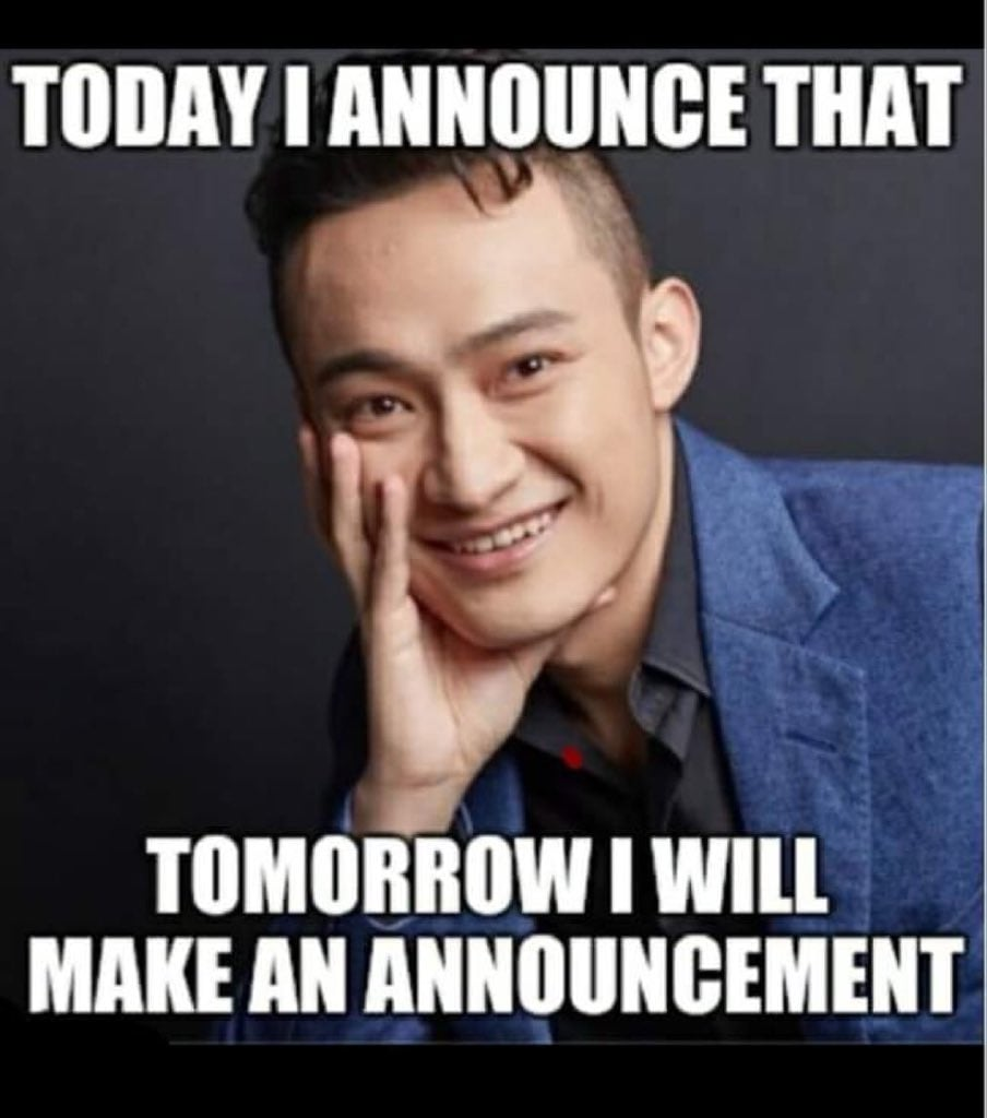 """Tron Founder Justin Sun - crowned as """"Hype man of the century"""" by Verge magazine"""